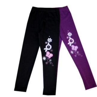 Leggings bolyhos pamut - Virág