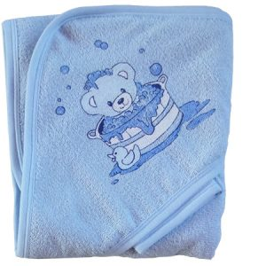 Fürdőlepedő kék