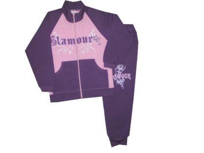 Szabadidőruha - Glamour (rózsa)