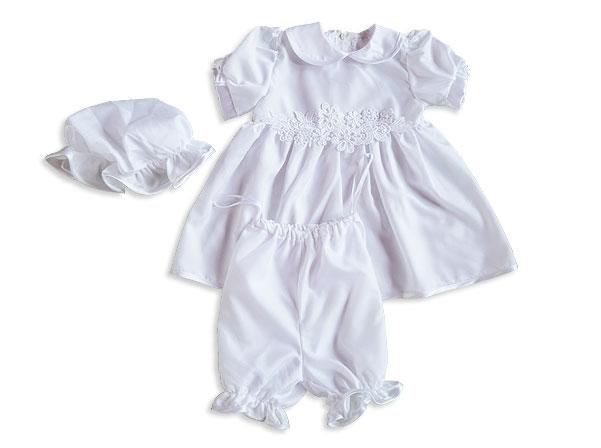 9193754114 Keresztelőruha – 3részes, lány – Nicol Gyermekruha