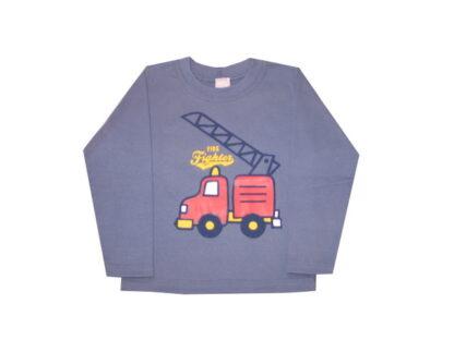 Hosszú ujjú póló - Tűzoltó