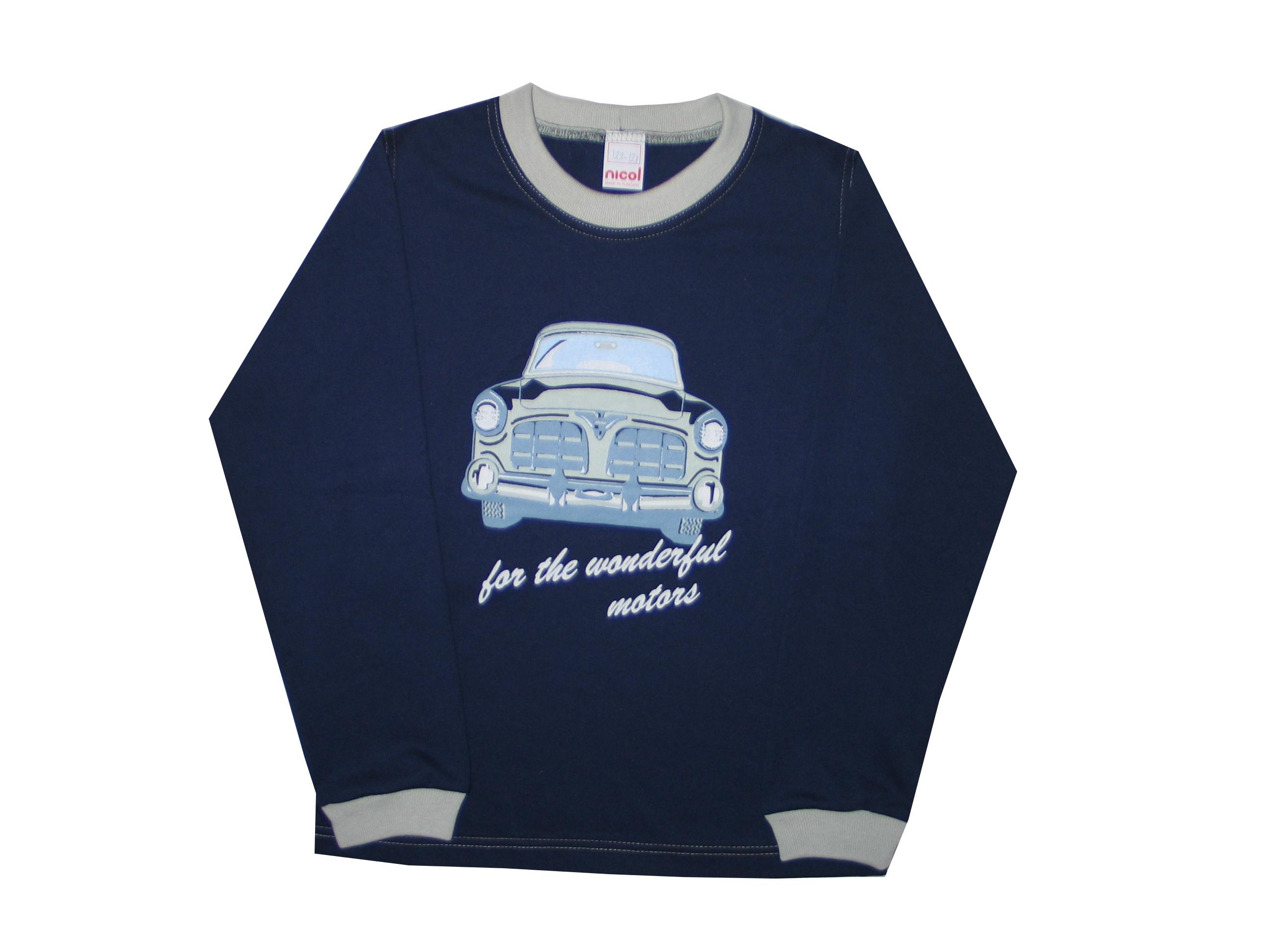 72e1d9cbf4 Hosszú ujjú póló – autó – Nicol Gyermekruha