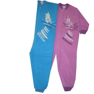 Pizsama,overáll, frottír -zsiráfok