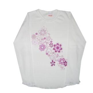 Hosszú ujjú póló - virágok