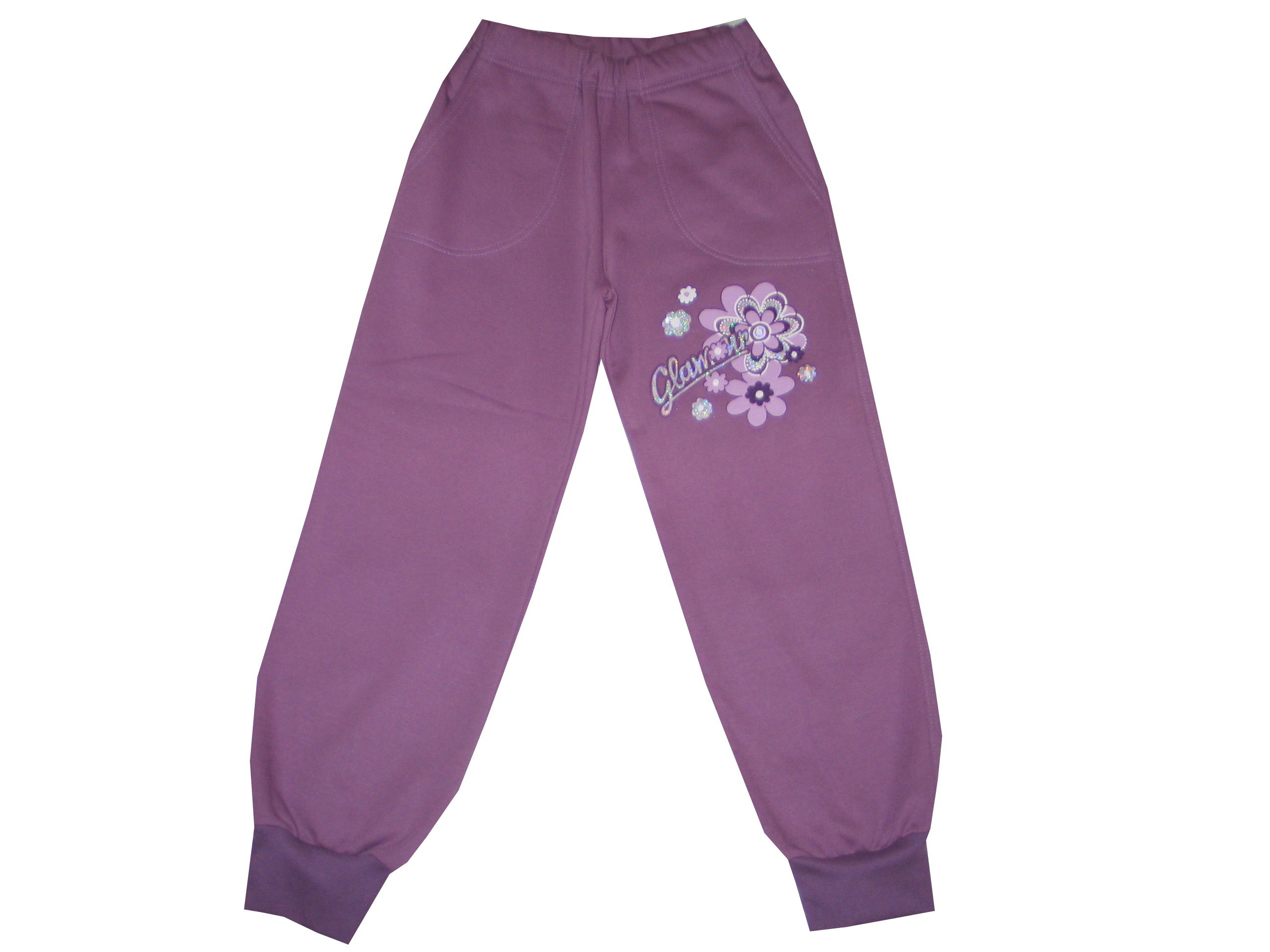 Szabadidő nadrág, bolyhos - glamour