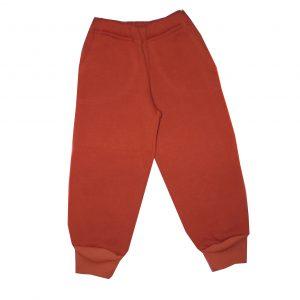 Szabadidő nadrág, bolyhos - minta nélkül