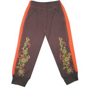 Szabadidő nadrág, futter - virágos