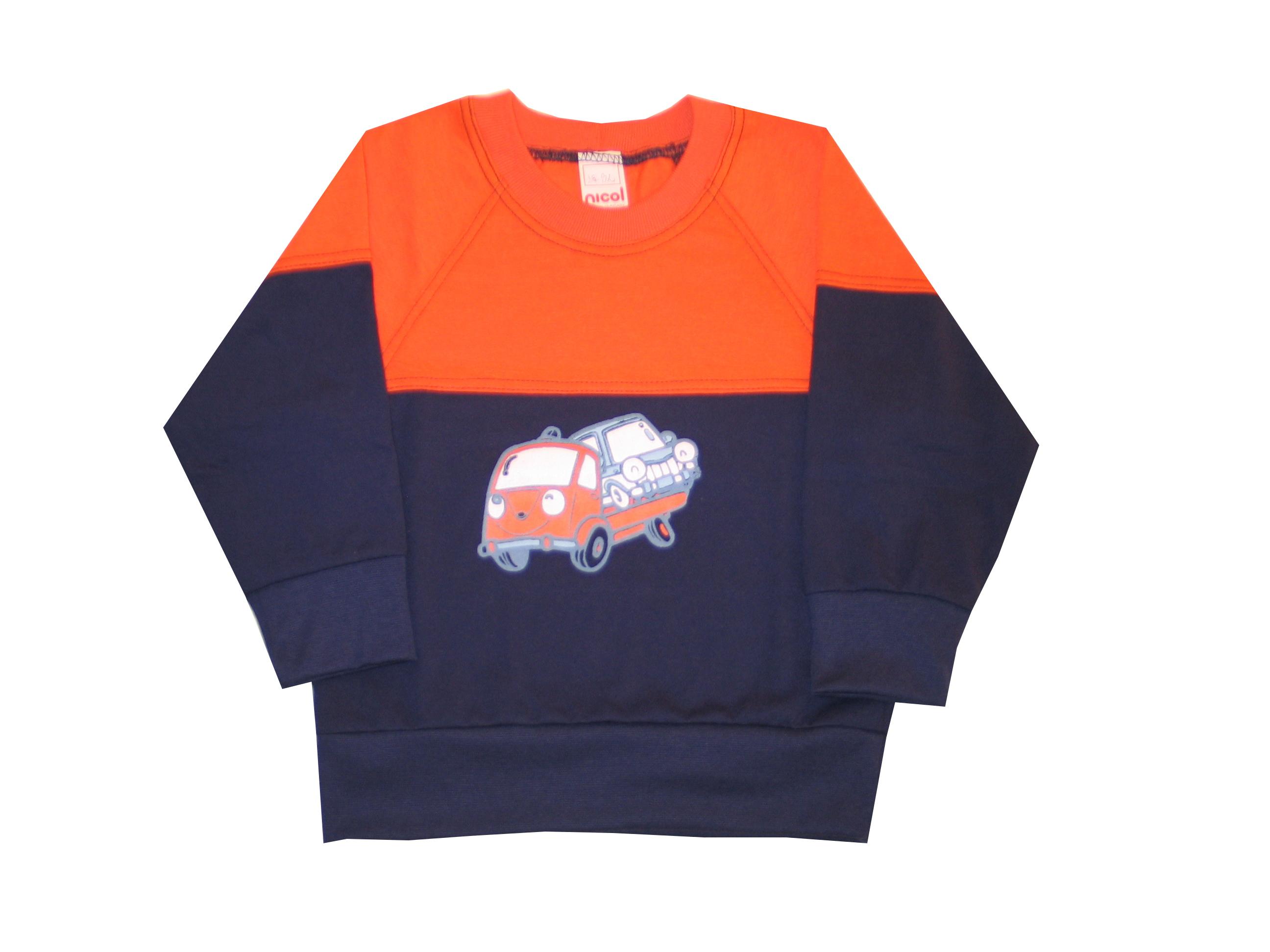 2eedd43622 Hosszú ujjú póló - Autók - Nicol Gyermekruha