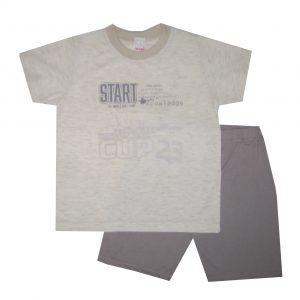 Nyári pamut fiú pizsama - Start