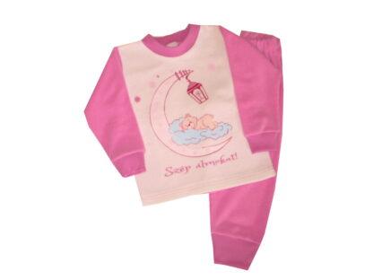 Pizsama, frottír - Szép álmokat