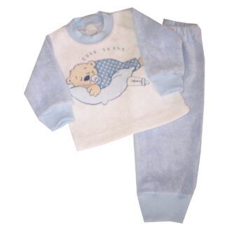 Frottír pizsama - Maci