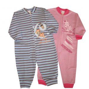 Pizsama, overall, bolyhos - Maci és zsiráfok