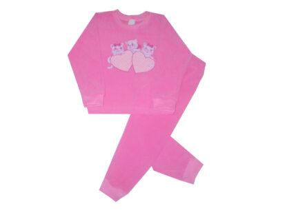 Pizsama, frottír - Cicák